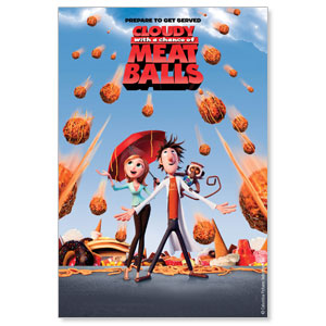 Cloudy with a Chance of Meatballs Movie License Packages