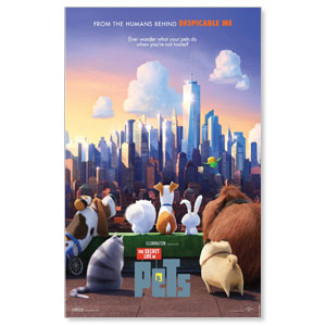 The Secret Life of Pets Movie License Packages