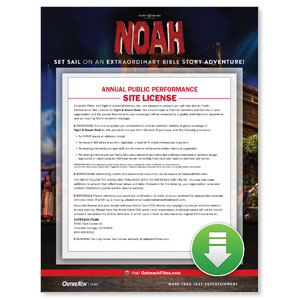 Sight and Sound: NOAH Digital Movie License