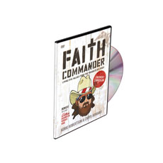 Faith Commander Kids DVD - CD