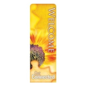 Get Connected - Welcome 2 x 6 Sleeve Banner