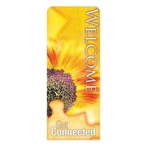 "Get Connected - Welcome 2'7"" x 6'7"" Sleeve Banners"