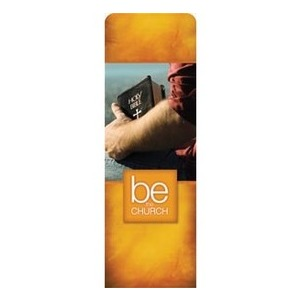 Be the Church Gold 2 x 6 Sleeve Banner