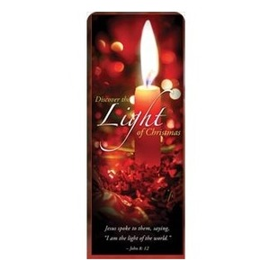 "Discover Christmas Light 2'7"" x 6'7"" Sleeve Banners"