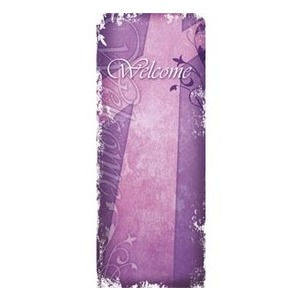 Vintage Purple Banners