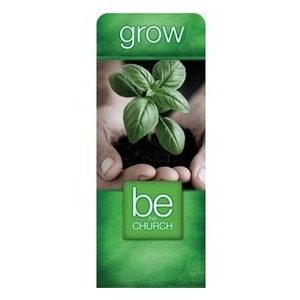 "Be the Church Grow 2'7"" x 6'7"" Sleeve Banners"