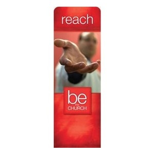 Be The Church Reach 2 x 6 Sleeve Banner