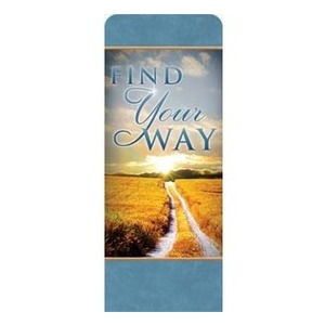 "Find Your Way Field 2'7"" x 6'7"" Sleeve Banners"