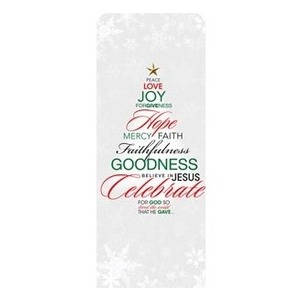 Christmas Word Tree Banners