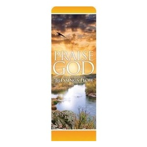 Blessings Flow 2 x 6 Sleeve Banner