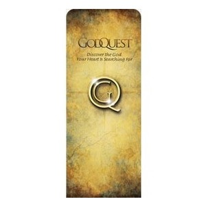 "God Quest 2'7"" x 6'7"" Sleeve Banners"
