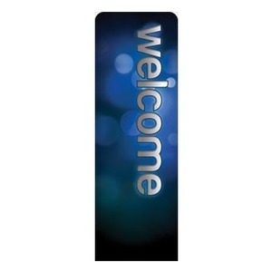 Sparkle Welcome 2 x 6 Sleeve Banner