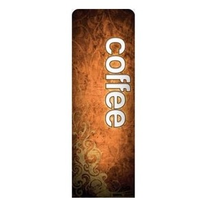 Adornment Coffee 2 x 6 Sleeve Banner