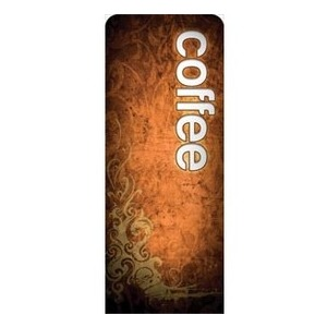 "Adornment Coffee 2'7"" x 6'7"" Sleeve Banners"