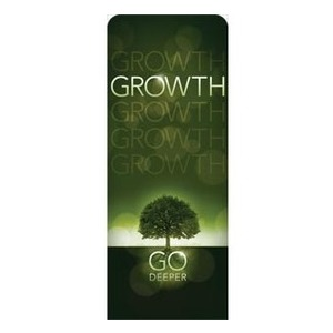 "Deeper Roots Growth 2'7"" x 6'7"" Sleeve Banners"