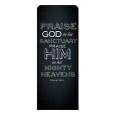 Chalk Ps 150:1 Banner