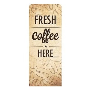 "Coffee Retro 2'7"" x 6'7"" Sleeve Banners"