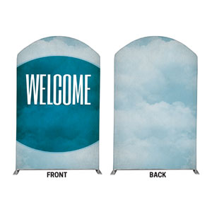 Celestial Welcome 5' x 8' Curved Top Sleeve