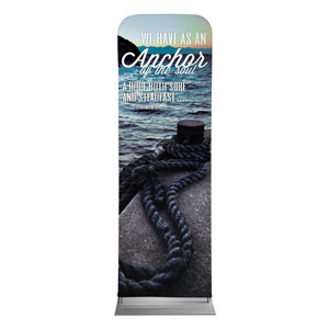 Reflections Anchor 2 x 6 Sleeve Banner
