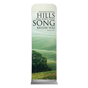 Reflections Hills 2 x 6 Sleeve Banner