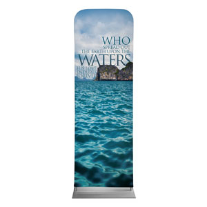 Reflections Waters 2 x 6 Sleeve Banner