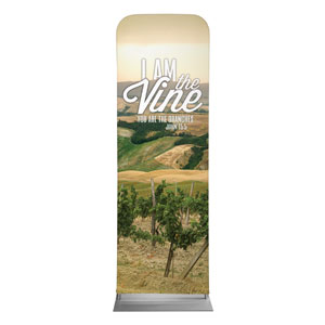 Reflections Vine 2 x 6 Sleeve Banner