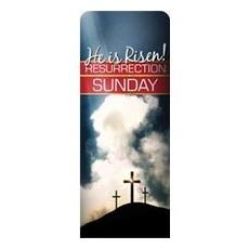 Risen Resurrection Banner