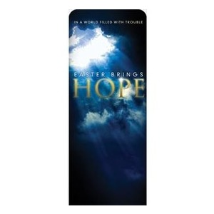 "Hope Breaks Through 2'7"" x 6'7"" Sleeve Banners"