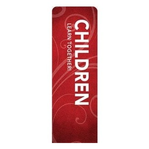 Flourish Children 2 x 6 Sleeve Banner