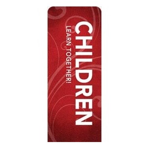 "Flourish Children 2'7"" x 6'7"" Sleeve Banners"