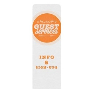 Guest Circles Services Orange Banners