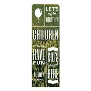 Phrases Children 2 x 6 Sleeve Banner