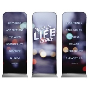 Life Alone  Banners
