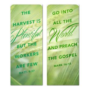 Harvest Green Pair Banners