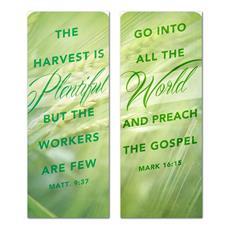Harvest Green Pair Banner