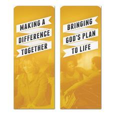 Ribbon Yellow Banner
