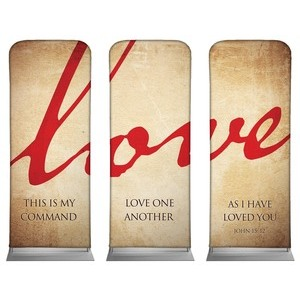 Love Triptych Banners