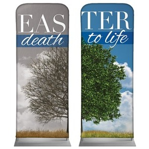 "Death to Life Pair 2'7"" x 6'7"" Sleeve Banners"