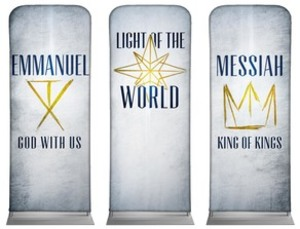 "Light of the World Star 2'7"" x 6'7"" Sleeve Banners"