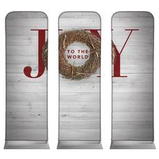 Joy Twig Wreath Banner