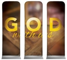 God With Us Manger Triptych