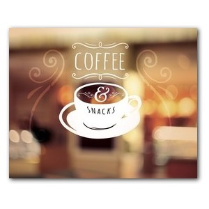 Coffee and Snacks Banners
