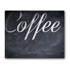 Coffee Chalk Banner