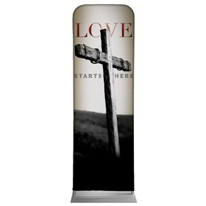 Love Starts Here 2 x 6 Sleeve Banner