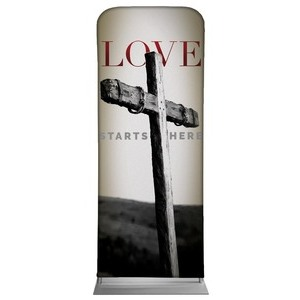 "Love Starts Here 2'7"" x 6'7"" Sleeve Banners"