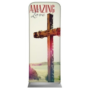 "Amazing Love Cross 2'7"" x 6'7"" Sleeve Banners"