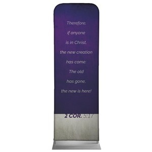 Color Block 2 Cor 5:17 2 x 6 Sleeve Banner