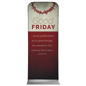 "Color Block Good Friday 2'7"" x 6'7"" Sleeve Banners"