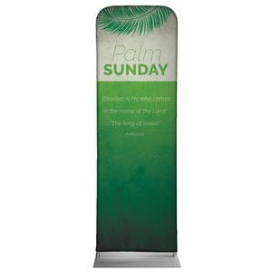 Color Block Palm Sunday 2 x 6 Sleeve Banner