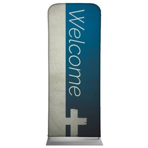 "Color Block Welcome 2'7"" x 6'7"" Sleeve Banners"